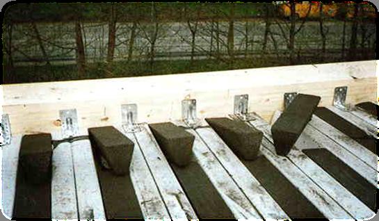 Изготовление любых форм из блоков прямо на строительной площадке