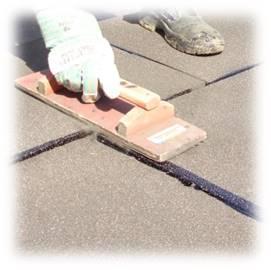 Очистка от излишек мастики и выравнивание для создания единой плоскости