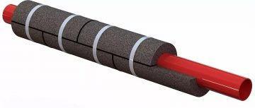 Тепло-шумоизоляция трубопроводов скорлупами из пеностекла