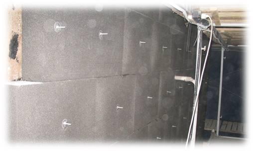 Установка анкеров для крепления металлической оцинкованной сварной сетки